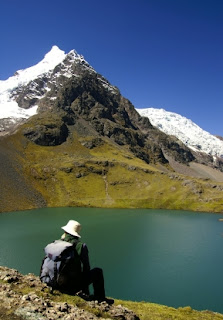 Andes mountains in Peru