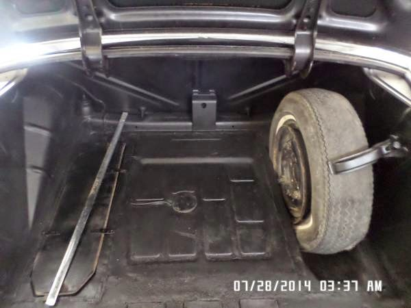 Very rare 1959 mercedes benz 220se ponton auto for Mercedes benz car trunk organizer