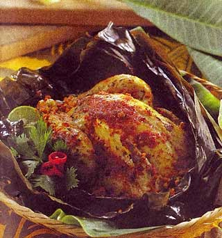 Resep Ayam Bakar Betutu ( Bali )