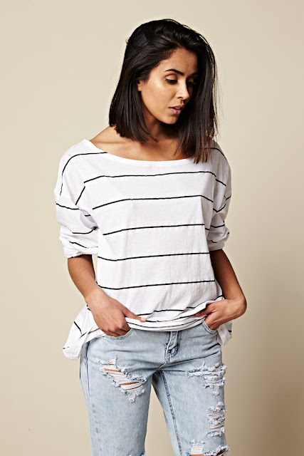 Tiny Dancer Striped Top by One Teaspoon at Fitzroy Boutique
