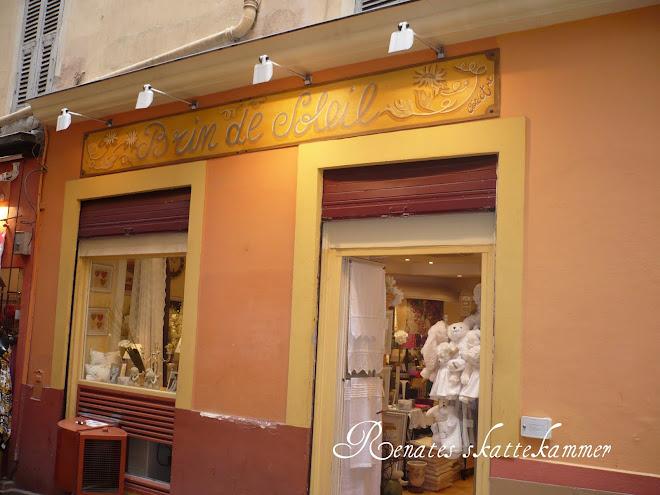 En av favorittbutikkene mine i gamlebyen i Nice..