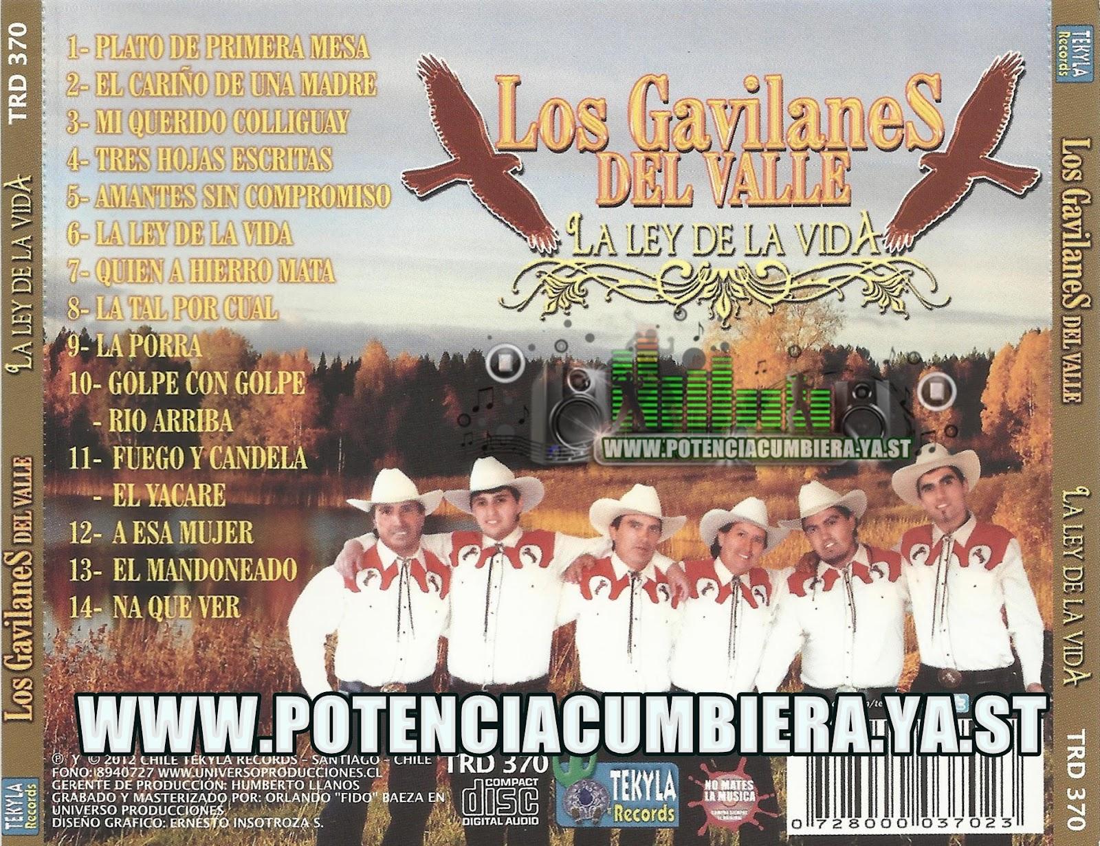 Cd los gavilanes del valle-La ley de la vida. Los+Gavilanes+del+Valle+-+La+Ley+de+la+Vida+CD+2012+2