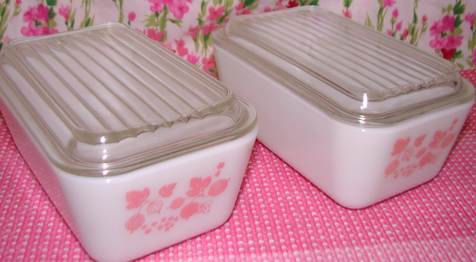 Farm Girl Pink My Collection Of Pink Pyrex
