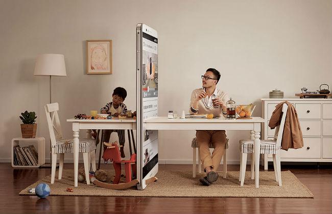dependenta de smartphone parinte copil campanie ogilvy 3