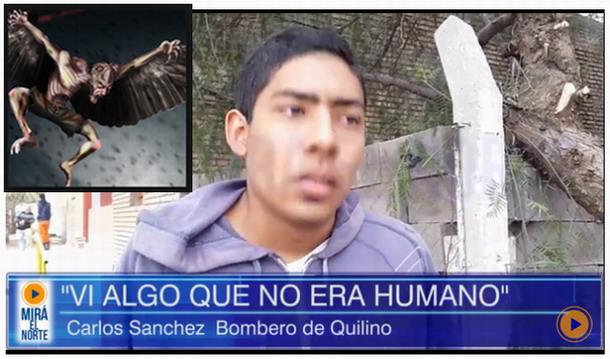 Bomberos de una localidad de Argentina aseguran haber visto
