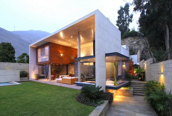 Desain Rumah Modern Unik