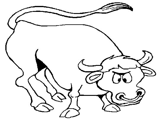 free bull coloring sheet printable for kids Benny the Bull Coloring Pages  Bull Coloring Pictures