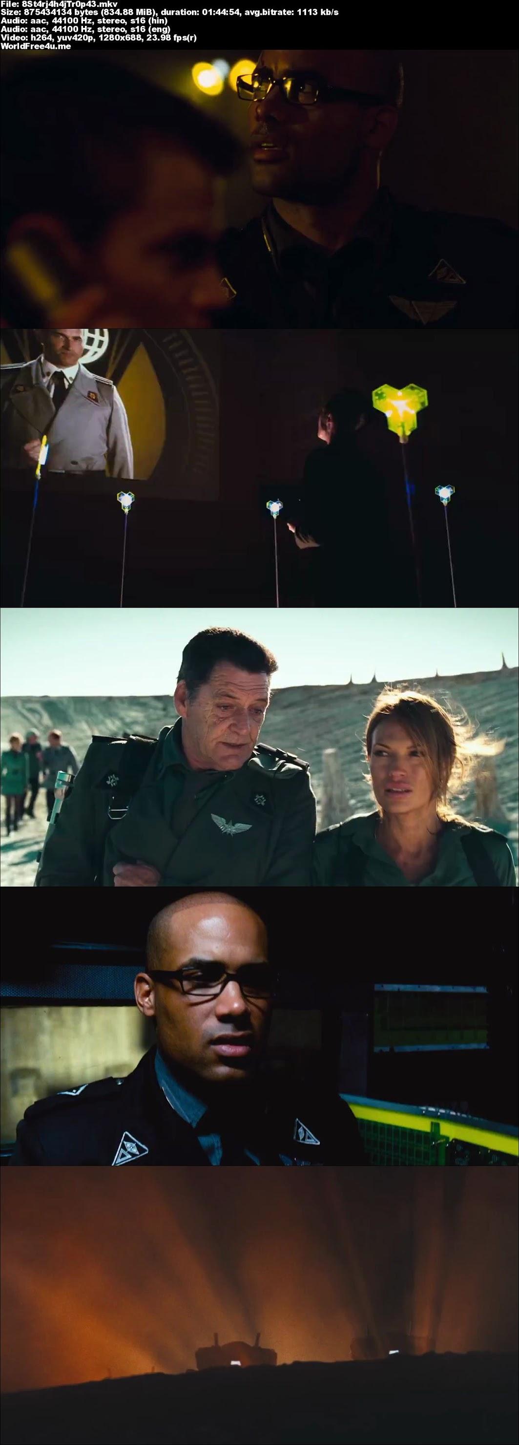 Screen Shot Of Starship Troopers 3 2008 In Hindi English Dual Audio Bluray 720P