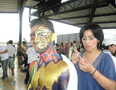 Programa del Carnaval en la ciudad de Puyo 2013