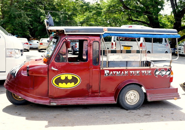 The Batmobile in Thailand