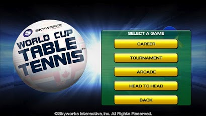 World Cup Table Tennis apk for android free download