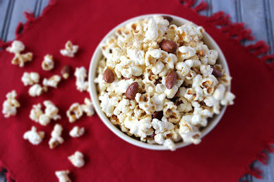 Cooking on the Front Burner: Irish Cream Flavored Popcorn