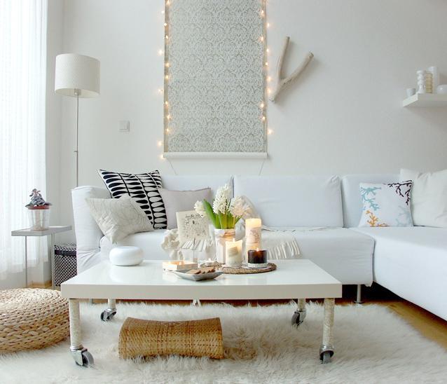 Sala Pequena Toda Branca ~ decoracao de sala toda brancaBaonilha Decoração branca, inspirada
