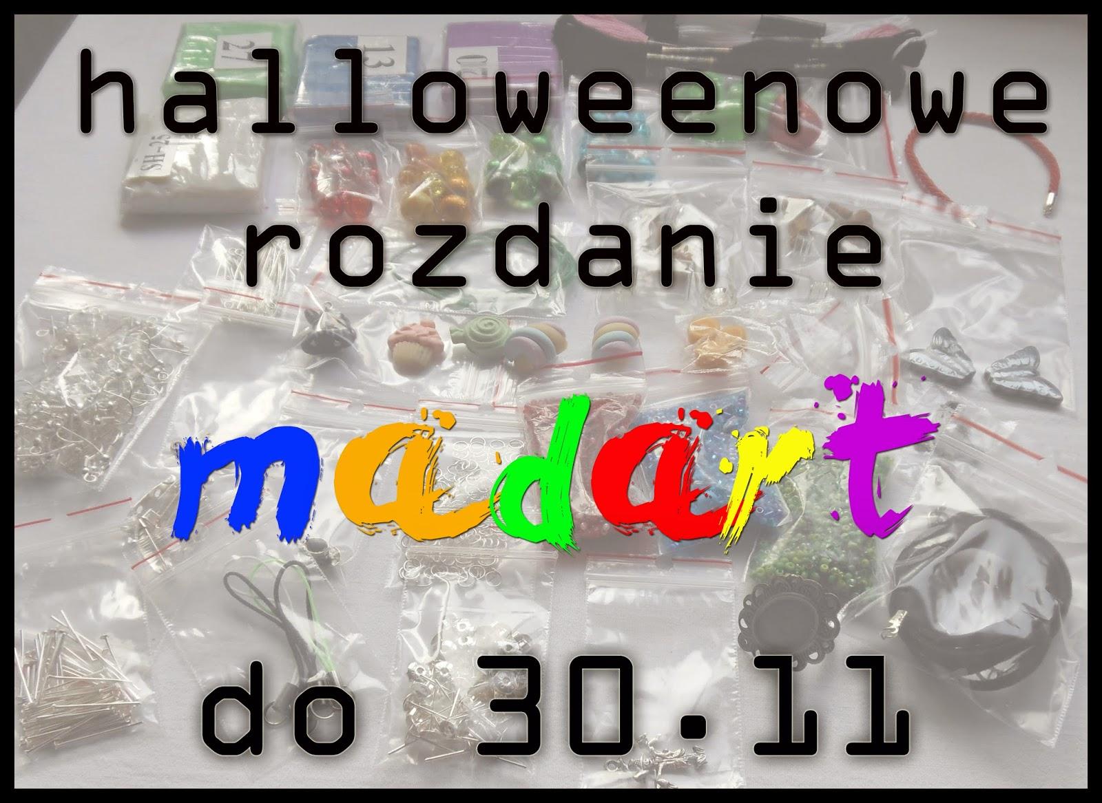 61.halloweenowe rozdanie u madart!