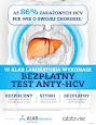 Darmowe testy na obecność wirusa HCV