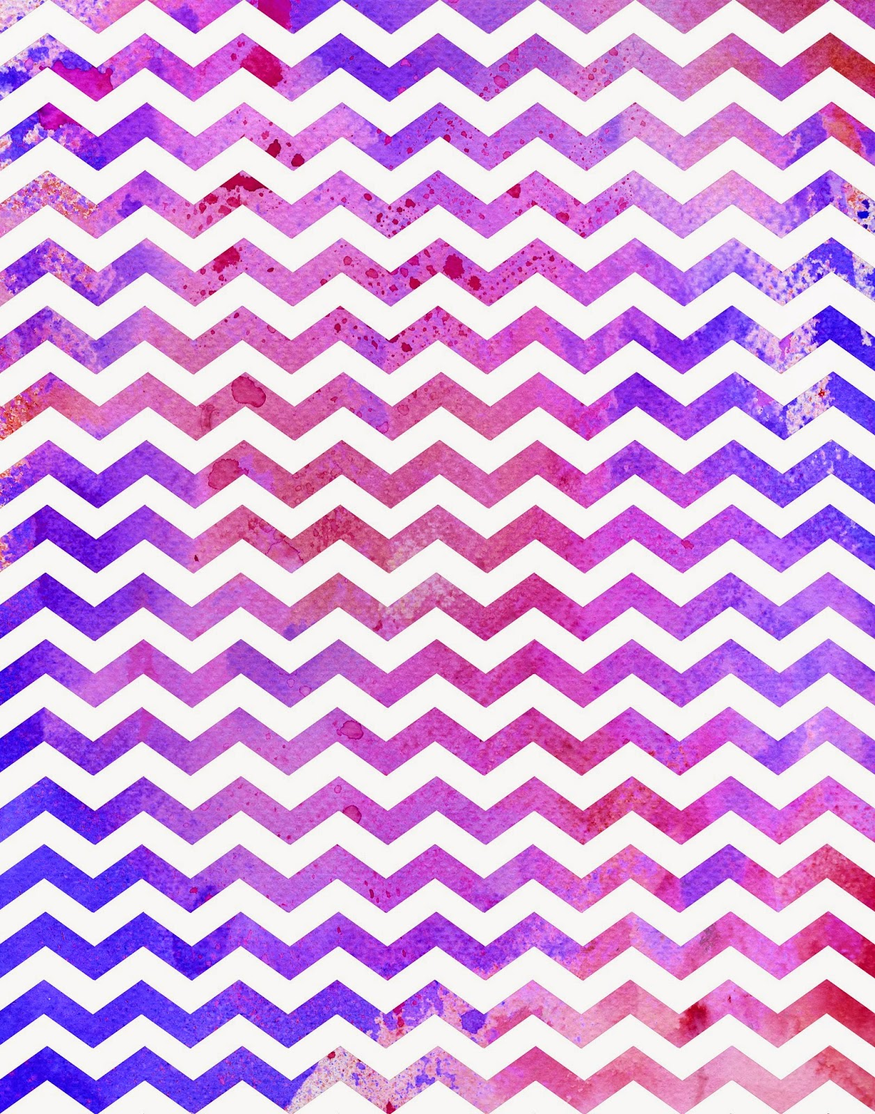 DoodlecraftWatercolor Chevron Freebies!