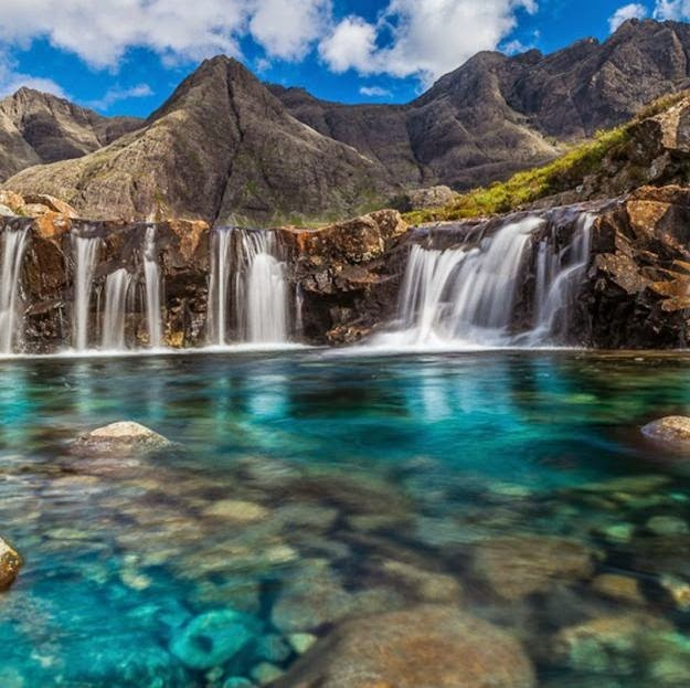 Fairy Pools at the Top, Isle of Skye, Scotland