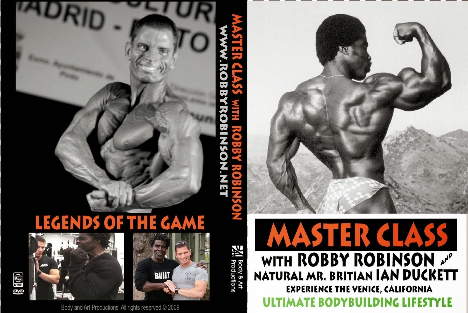 MASTER CLASS with ROBBY ROBINSON - INSTRUCTIONAL DVD Train with the legends of the iron game ● www.robbyrobinson.net//dvd_master_class.php ●
