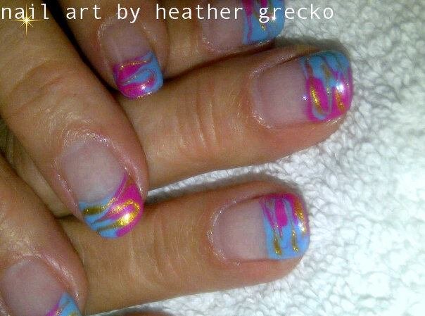 Estheticsguru cotton candy nail art prinsesfo Image collections
