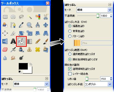 GIMP2の使い方 | 基本的な使い方①