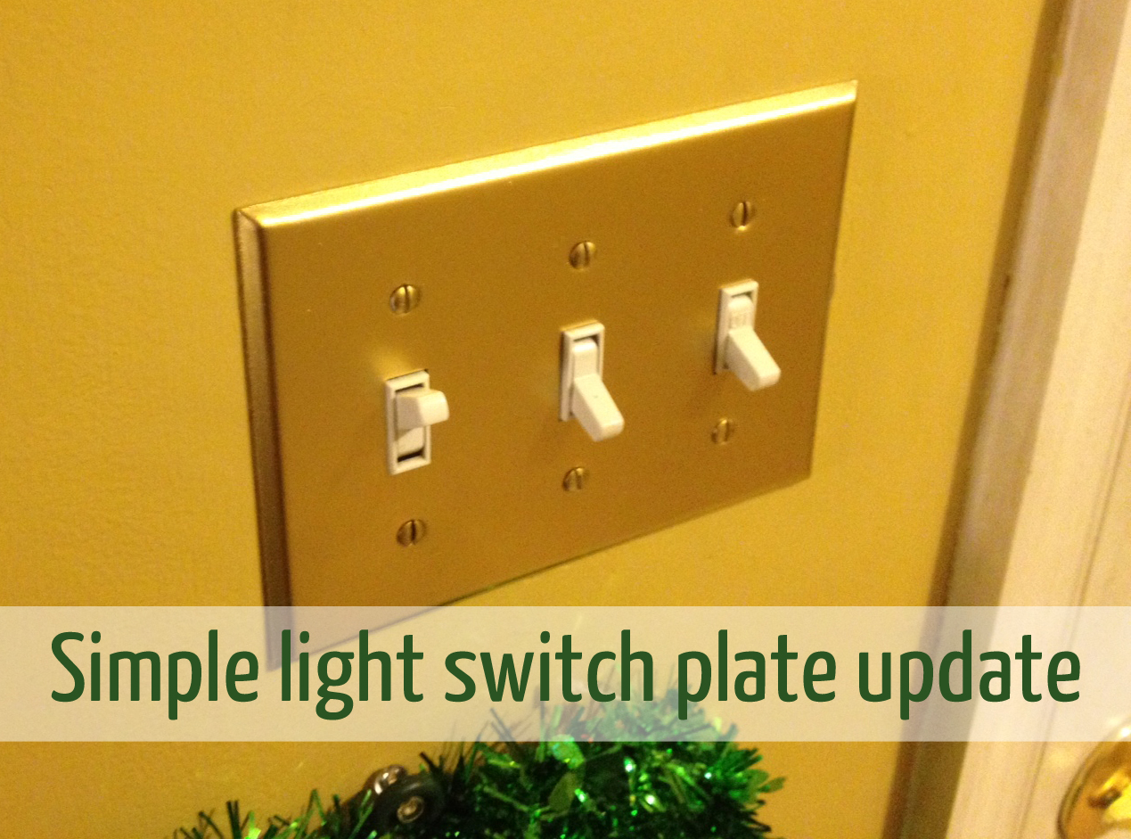 Gold Light Switch Covers | Wall Plate Design Ideas