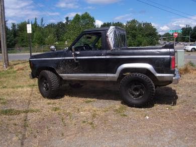 Sports Cars Ford Bronco Ii