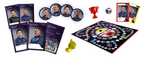 PROCUP : le jeu de société officiel de l'Équipe de France de Football