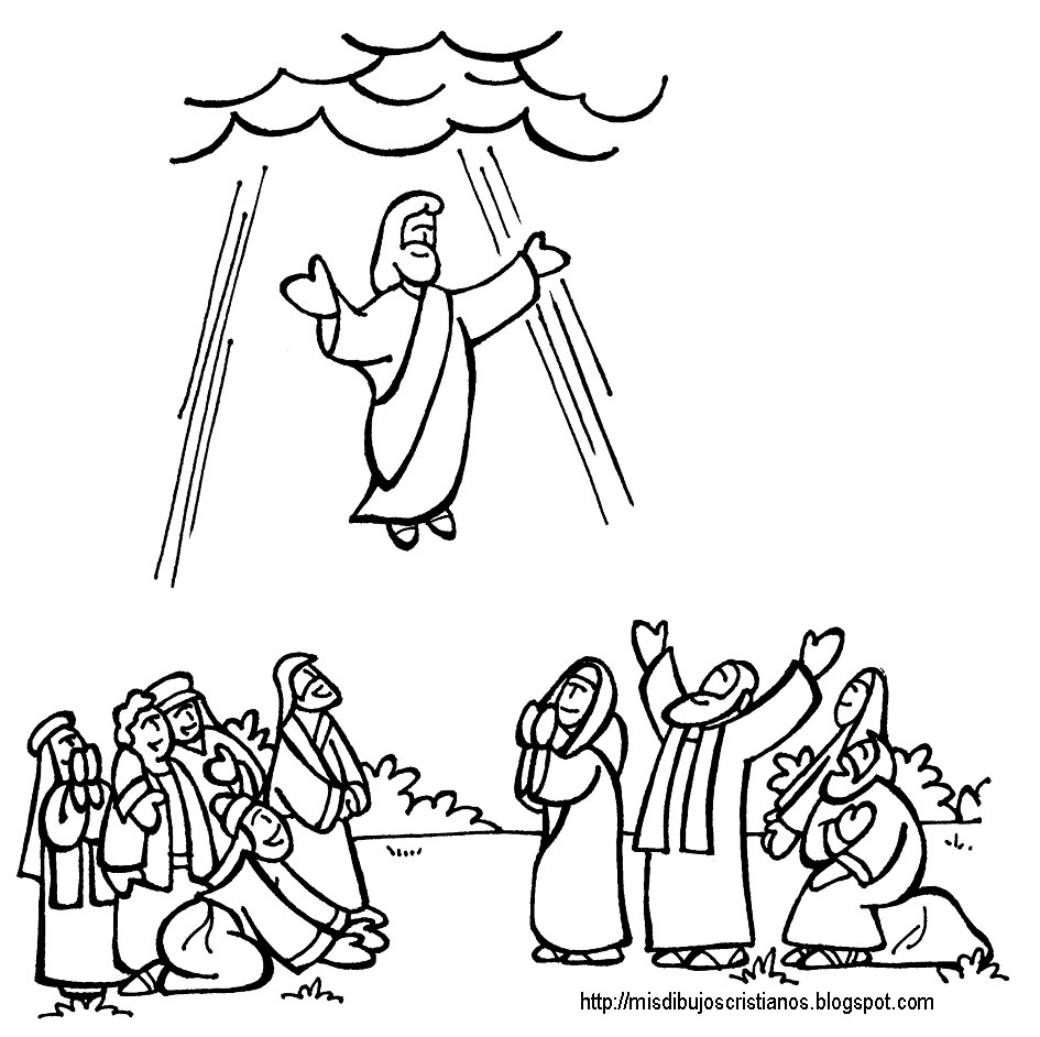 return of jesus coloring pages - photo#27