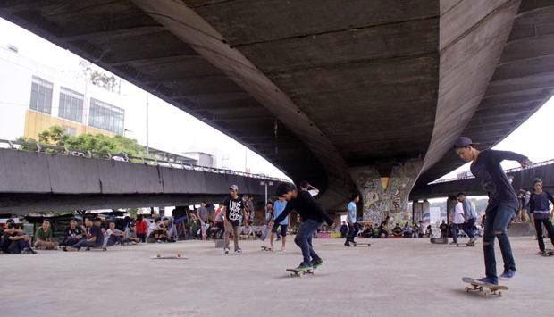 """Skate Park """"Taman-Taman Unik di Bandung Yang Patut Dikunjungi"""""""