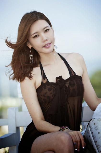 4 Go Da Yeon on a beach -Very cute asian girl - girlcute4u.blogspot.com