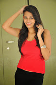 Swetha Jadhav glam pics in red top-thumbnail-19