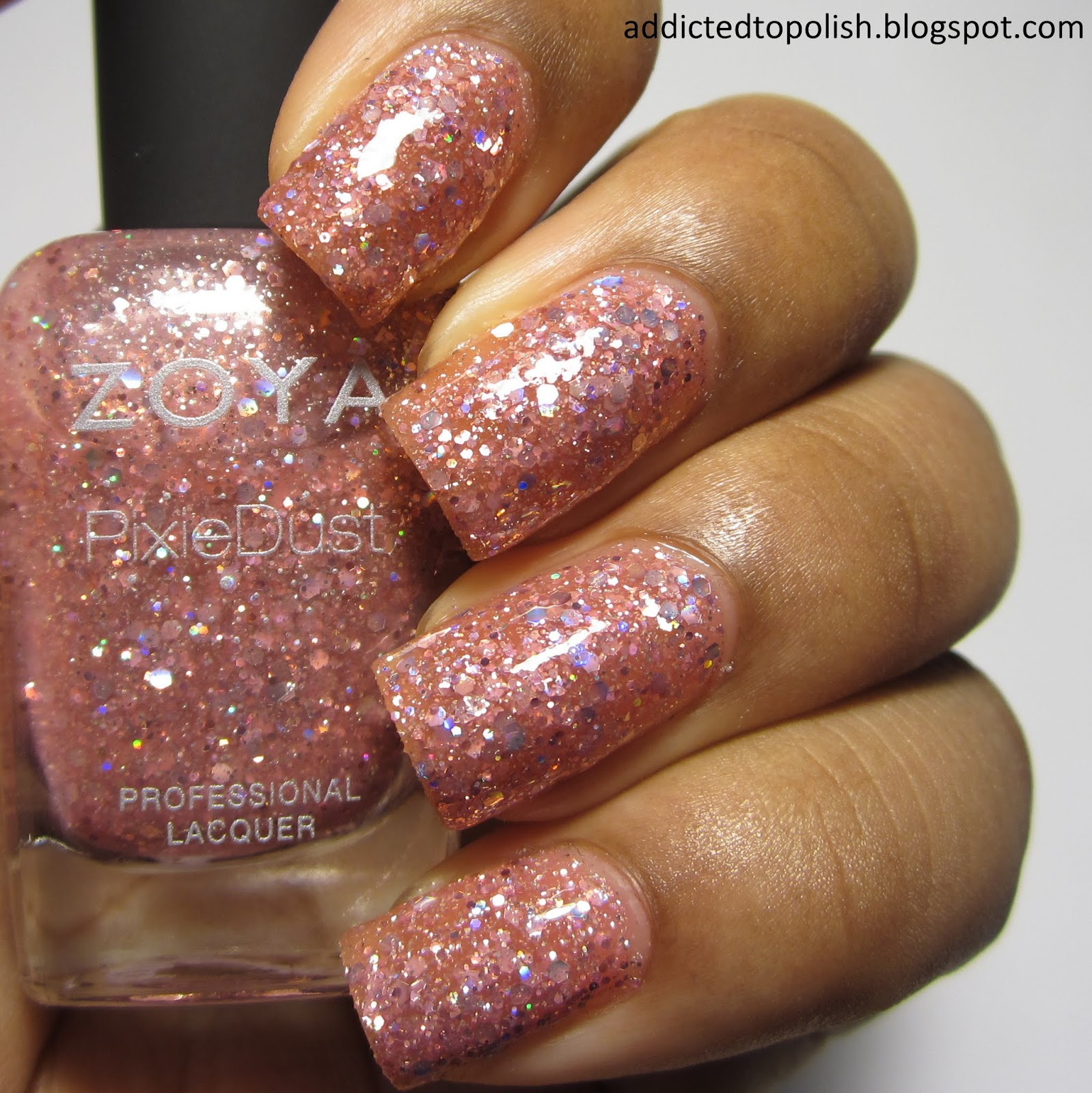 Zoya Ginni Magical PixieDust with topcoat