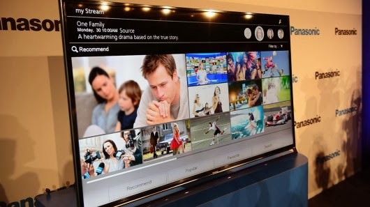 Firefox OS Panasonic Smart TV Akıllı
