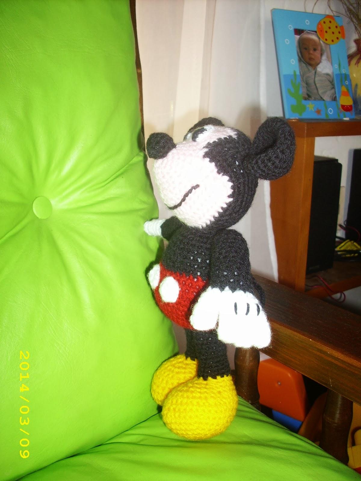 El taller de Sof?a: Amigurumi: Mickey Mouse