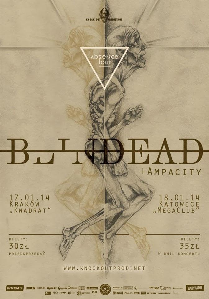 Absence Tour 2014 - Blindead, Ampacity, Entropia (Katowice, Mega Club, 18.01.2014)