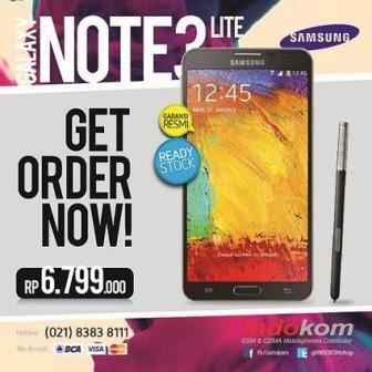 Galaxy Note 3 Neo sudah tersedia di Indonesia dengan harga Rp. 6.799.000