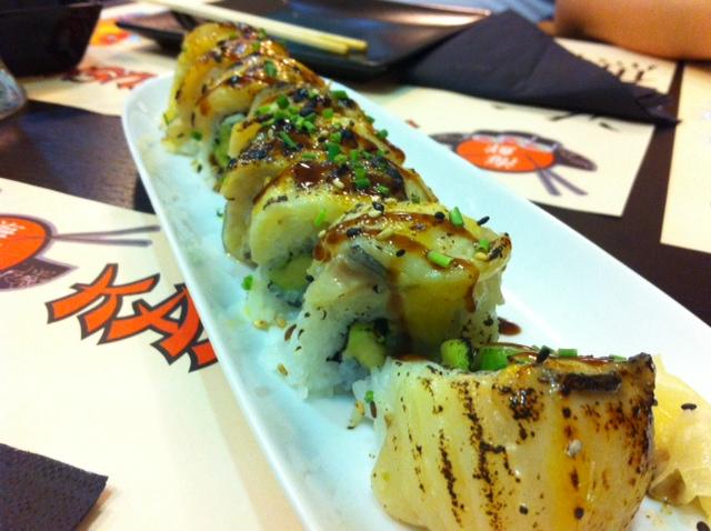 Gindara roll - Kaisen sushi Bar Oviedo