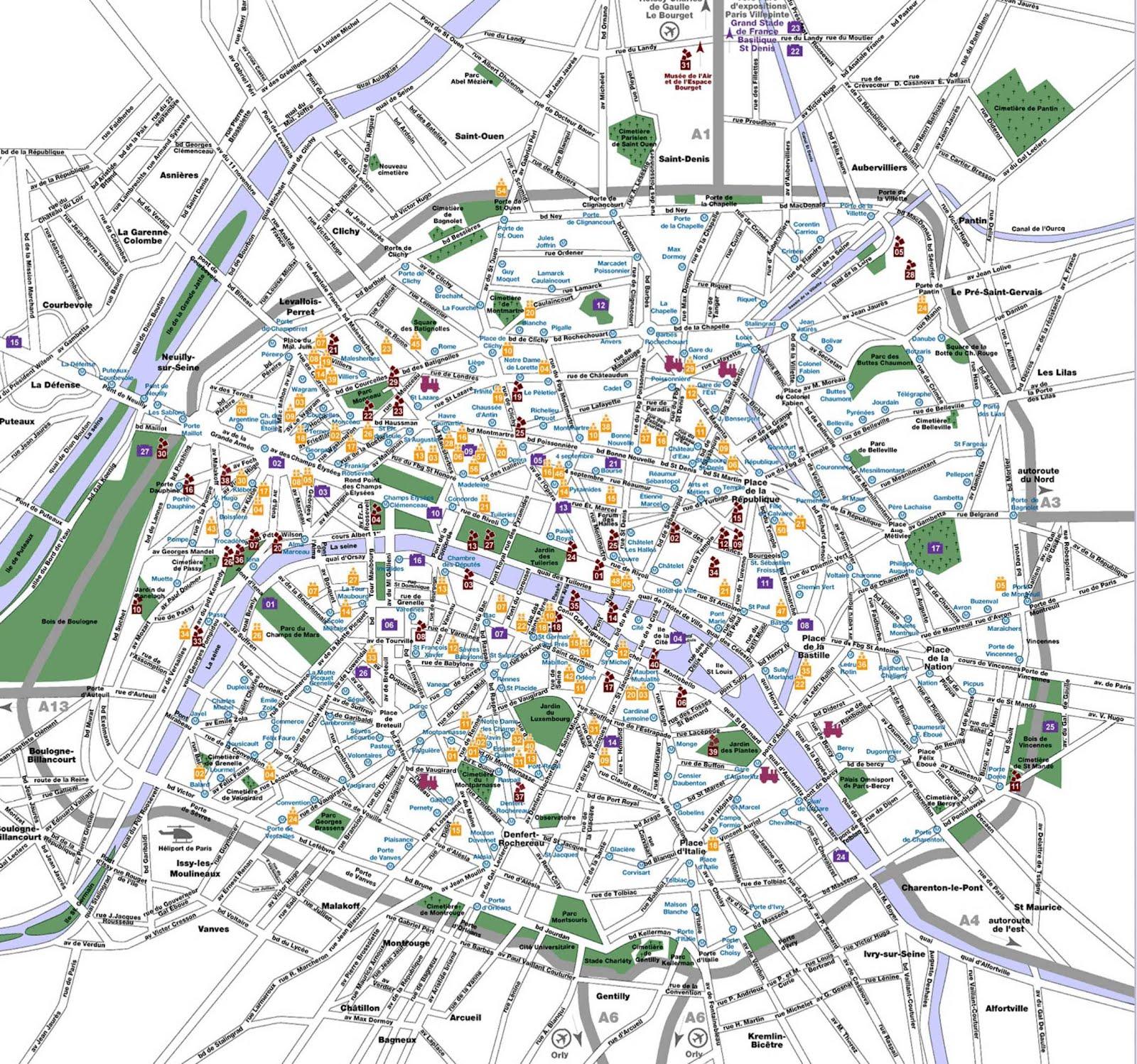 Plano Metro Paris Pdf Mapa - Paris mapa