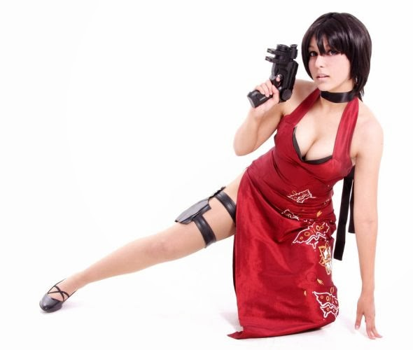 Gabriela Almeida Shermie deviantart cosplay beautiful girl games comics sensual Ada Wong from Resident Evil 4