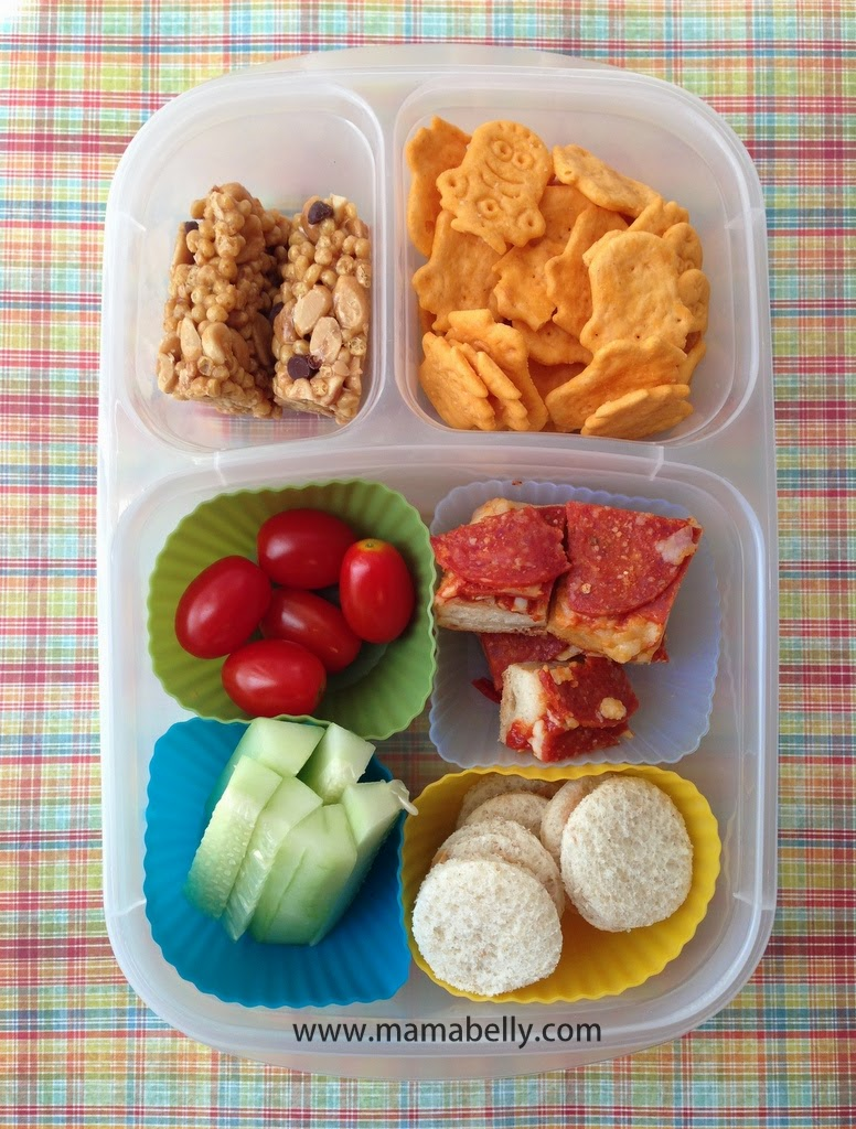 Grab & Snack Easylunchbox for School - mamabelly.com