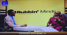 Banky W on YNaija's RubbinMinds programme