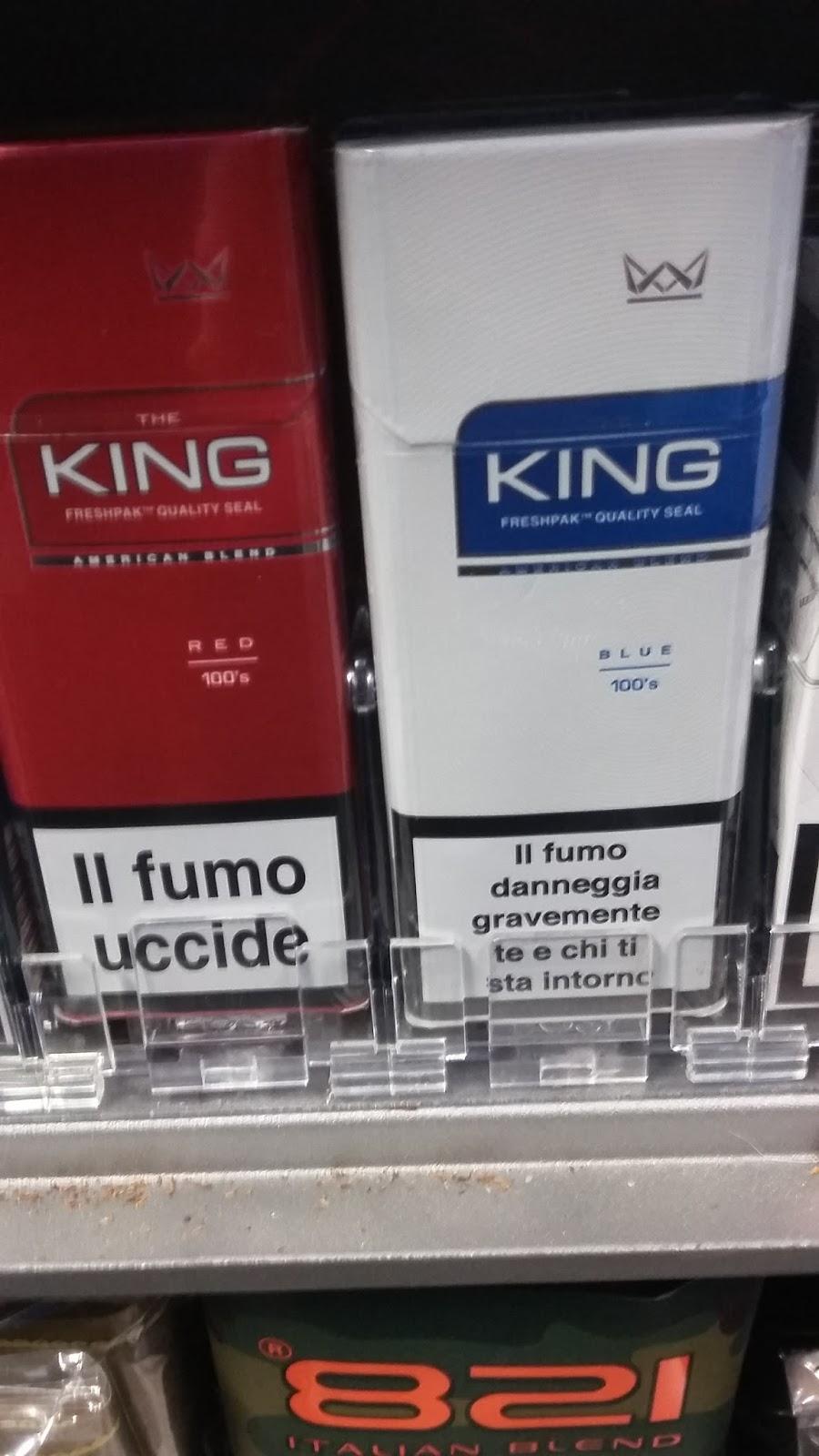 tabaccheriamauriziofuma: sigarette THE KING 100S in pacchetto da ...