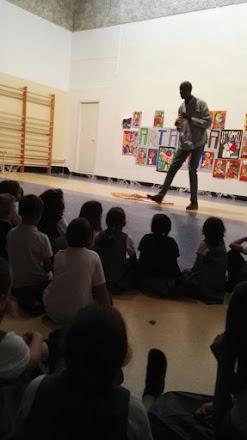 Talleres de animación lectora para primaria Colegio Santa Ana, Liria