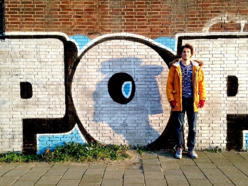 pop street art in NDSM-werf Amsterdam