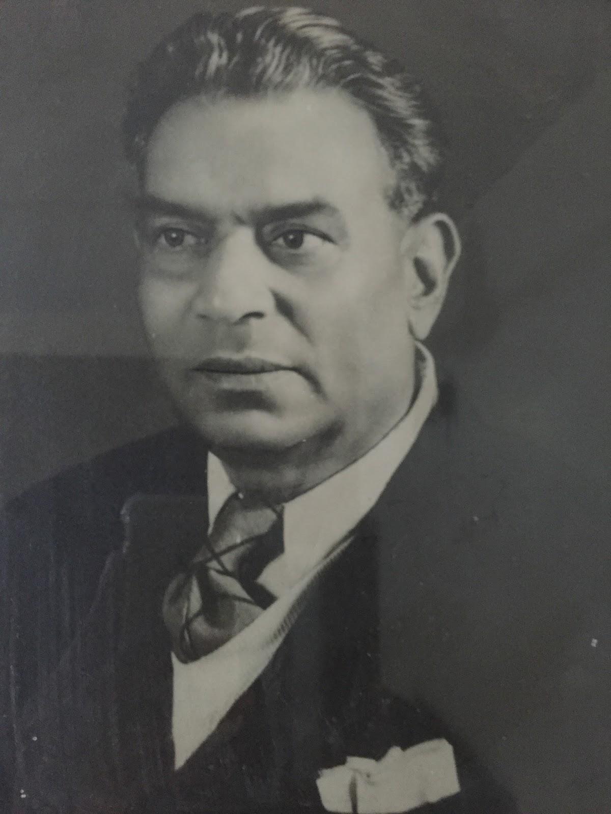 My grandfather Chandulal Dalal