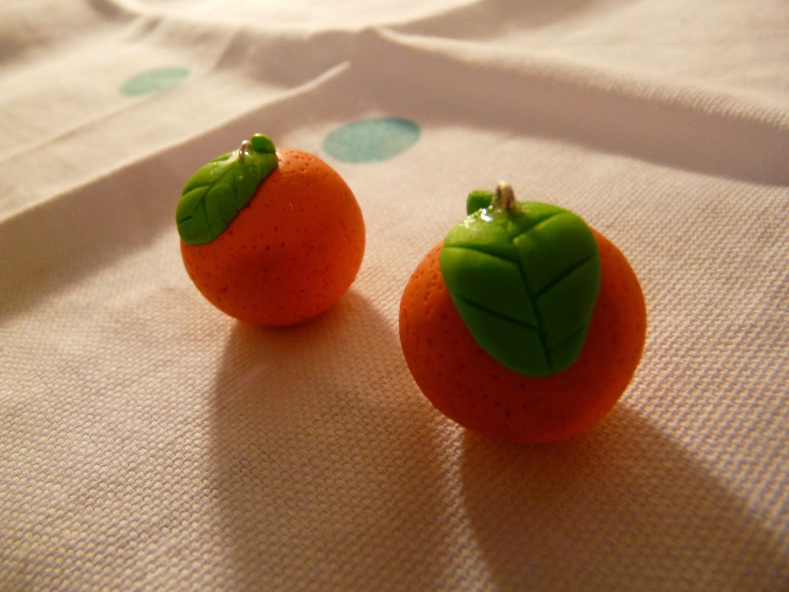 les cr as tutos tuto fimo comment faire une orange. Black Bedroom Furniture Sets. Home Design Ideas