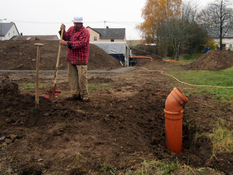Alex en marjon: 2012 november afbouw kelder