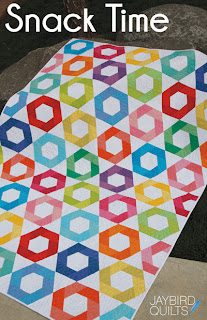 SnackTime Pattern Cover Web Jaybird Quilts Block Giveaway