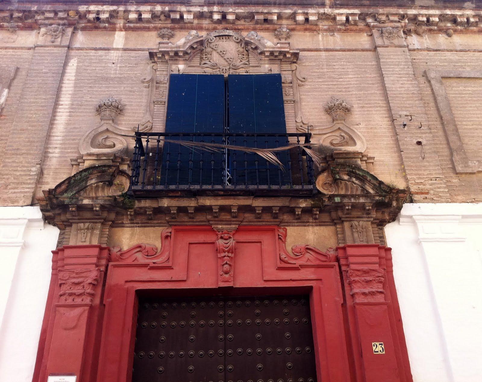 Sevilla daily photo el palacio de los conde de santa coloma - Casas en santa clara sevilla ...