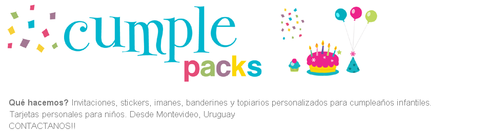 Cumple Packs